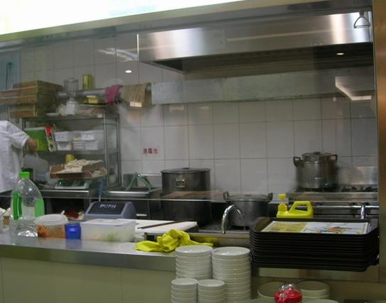 陕西店大同刀削面加盟厨房